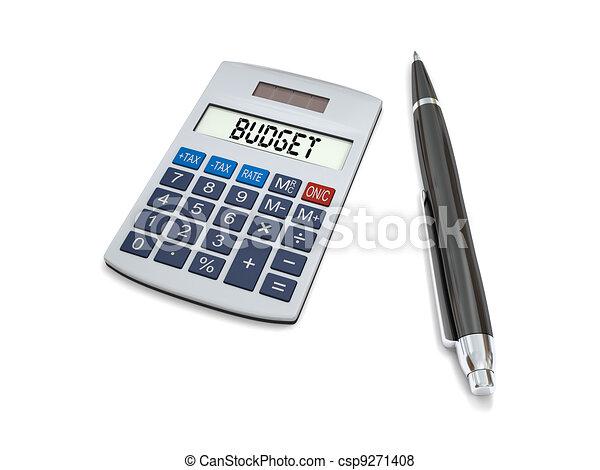 Calculating budget - csp9271408