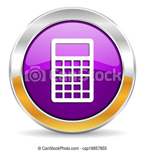 calculator icon - csp16857855