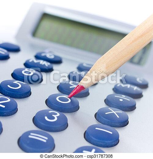 calculator - csp31787308