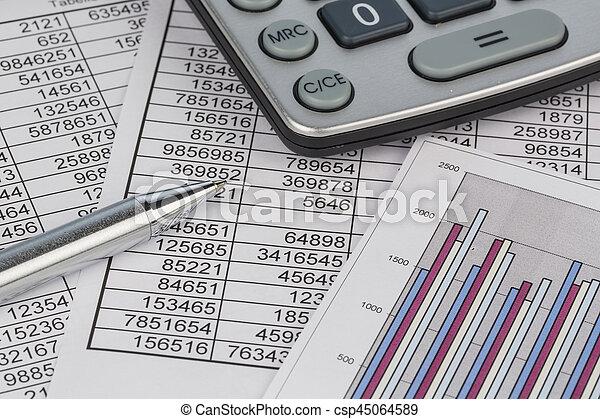calculators and statistk - csp45064589