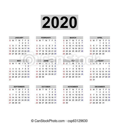 Calendario 2020 Com Feriados.Calendario 2020
