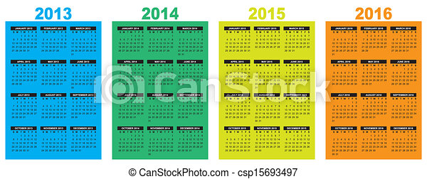 calendar 2013-2014-2015-2016 - csp15693497