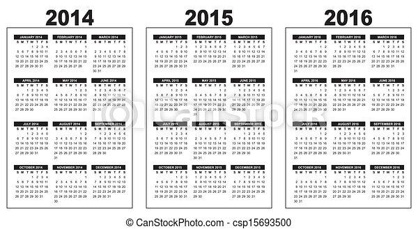 calendar 2014-2015-2016 - csp15693500