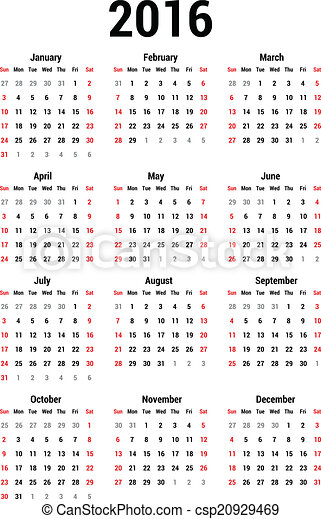 naptár 3013 2016 calendar template Clipart Vector and Illustration. 5,328 2016  naptár 3013