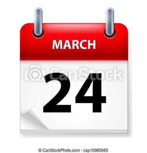 Calendar - csp10985665