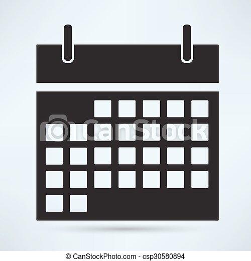 Calendar Icon - csp30580894