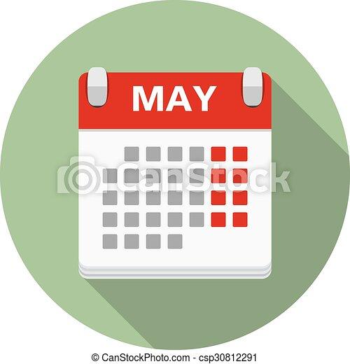 Calendar Icon - csp30812291