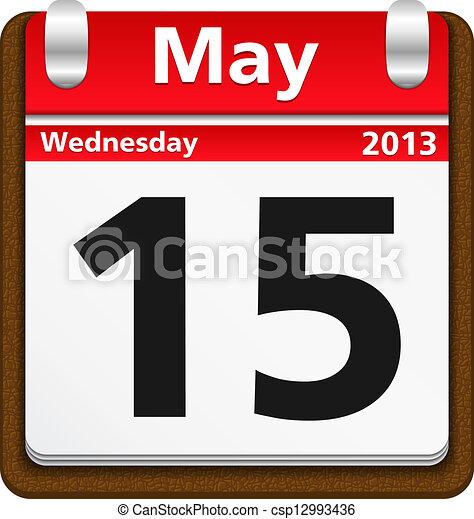 Calendar Icon - csp12993436