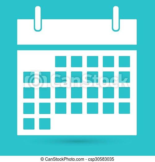 Calendar Icon - csp30583035