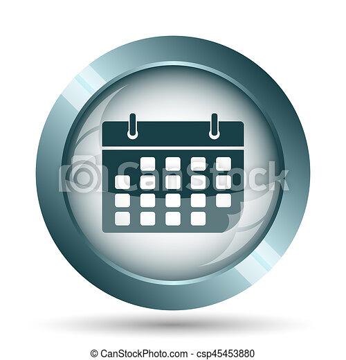 Calendar icon - csp45453880