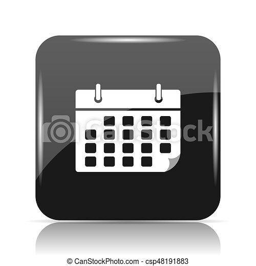 Calendar icon - csp48191883