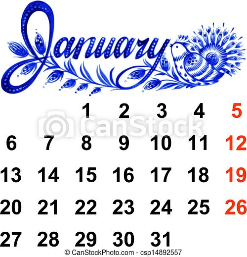 calendar january 2014 calendar january 2014 hand drawn