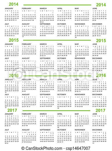 calendar new year 2014 2015 20 csp14647007