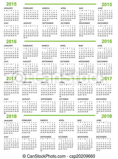 calendar new year 2015 2016 20 csp20209660