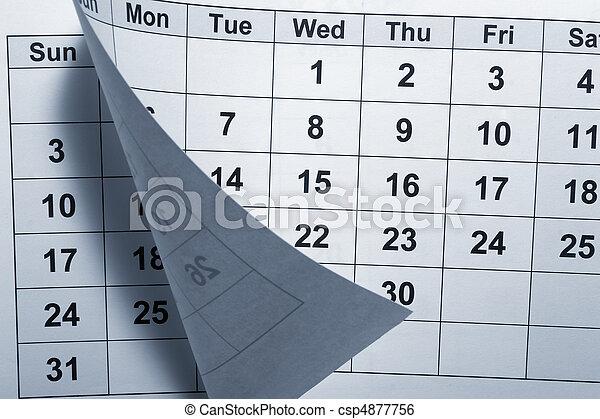 calendar - csp4877756