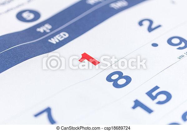 calendar - csp18689724