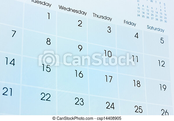 Calendar - csp14408905