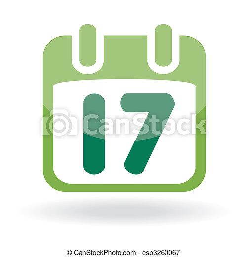 Calendar with date - csp3260067