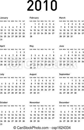 calendar2010_d02 - csp1624334
