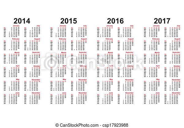 Calendario - csp17923988