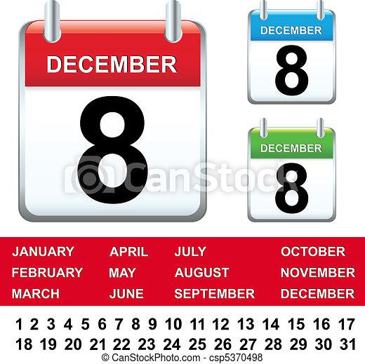 calendario - csp5370498