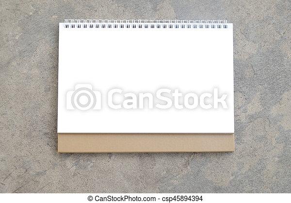 calendario, vuoto - csp45894394