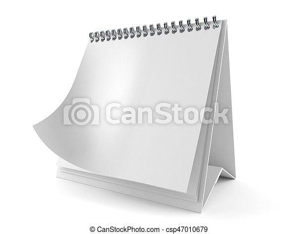 calendario, vuoto - csp47010679
