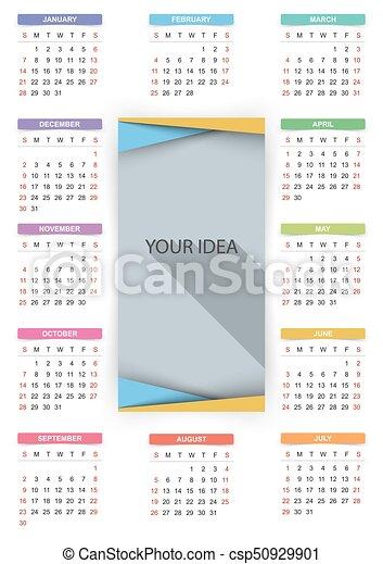 Cerca Calendario.Calendario Year 2018