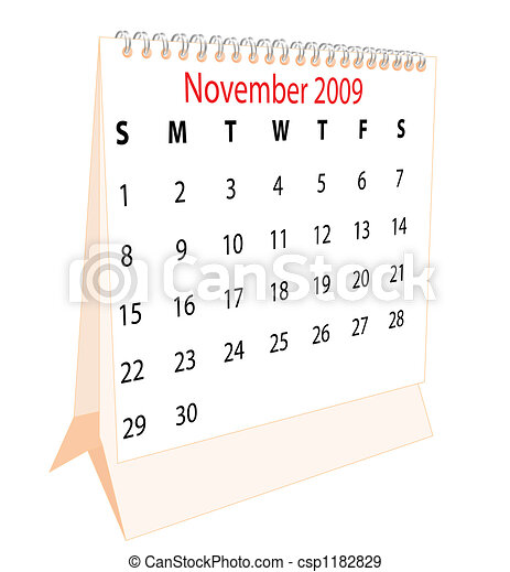 calendrier - csp1182829