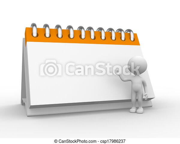 calendrier - csp17986237