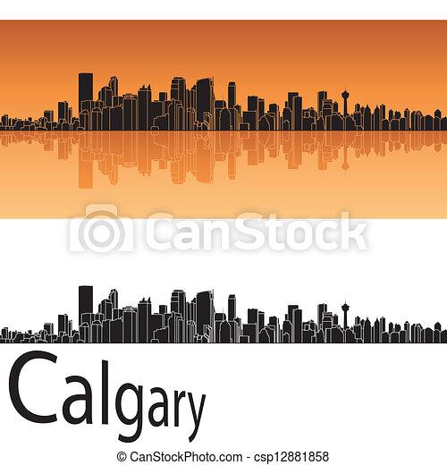 Calgary skyline - csp12881858