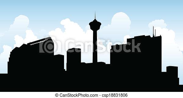 Calgary Skyline - csp18831806