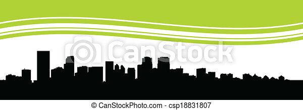 Calgary Skyline - csp18831807