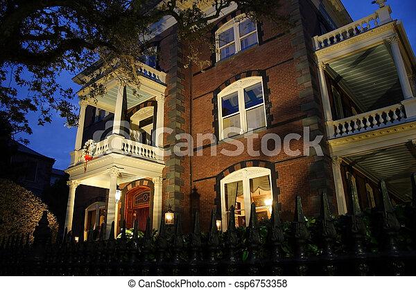 Calhoun Mansion - csp6753358