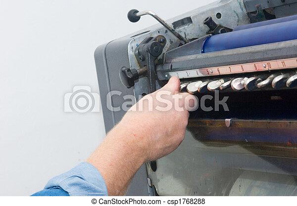 calibrar, tinta, suministro - csp1768288