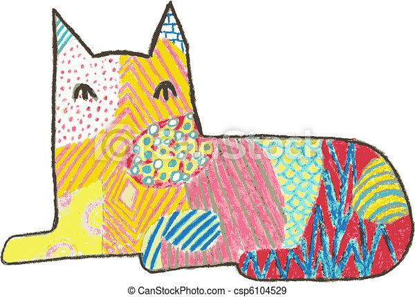 Calico Cat - csp6104529