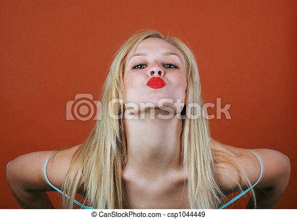 Labios calientes - csp1044449