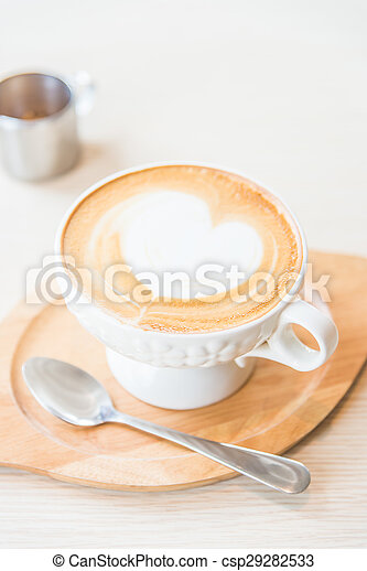 Café con leche caliente - csp29282533