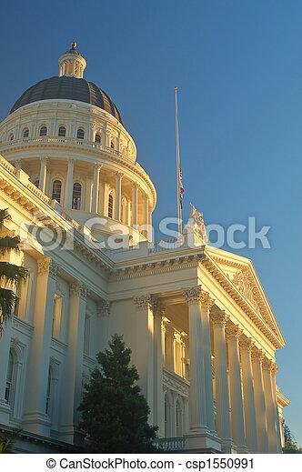 californië, capitool - csp1550991