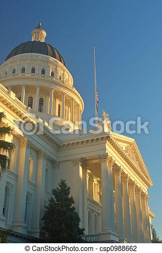 californië, capitool - csp0988662