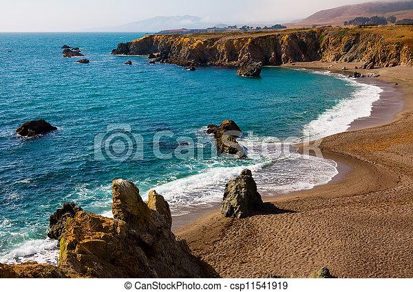 California coast - csp11541919