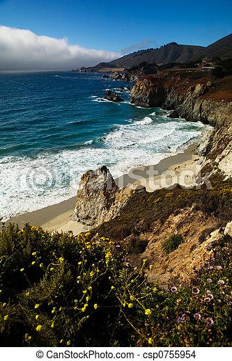 California coast - csp0755954