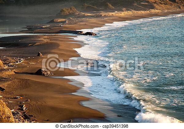 California coast - csp39451398