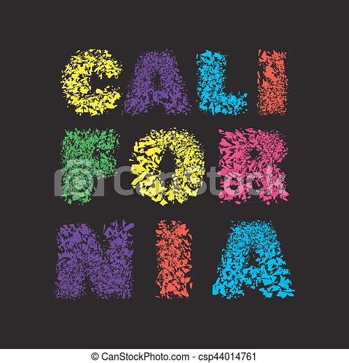 8eb6772a California surf typography, t-shirt graphics, vector illustration.