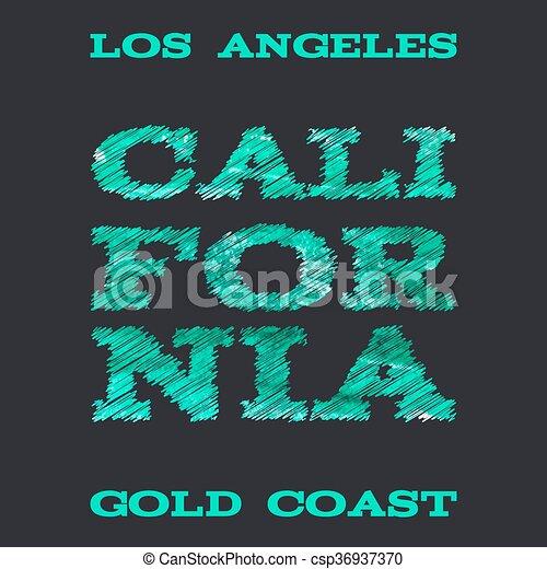 ff9b46aa California surf typography t-shirt graphics vectors illustration.