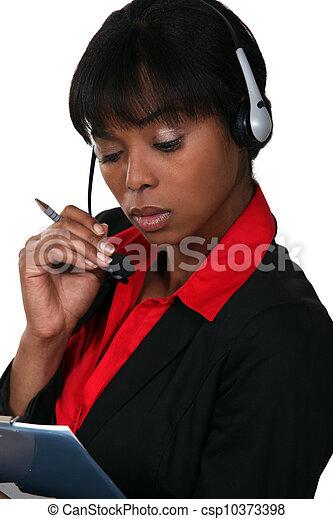 Call-center agent - csp10373398