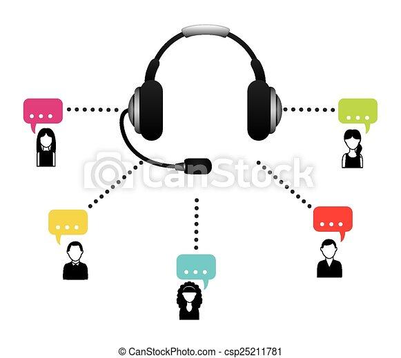 call center - csp25211781