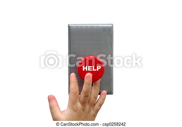 Call for help button - csp0258242