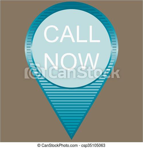 call now Button - csp35105063