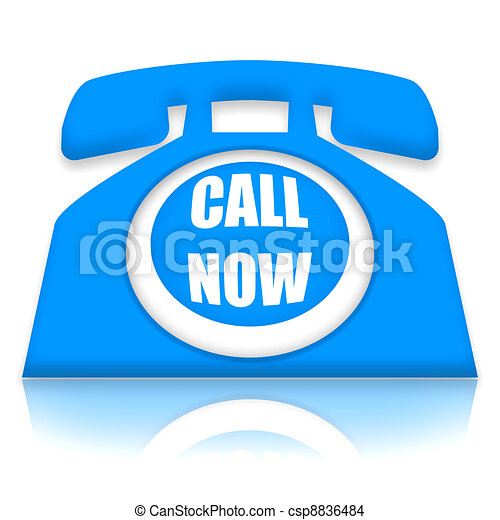 Call Now - csp8836484